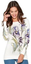 M&Co Floral lily print jumper