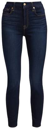 7 For All Mankind The High Waisted Ankle Skinny Jeans
