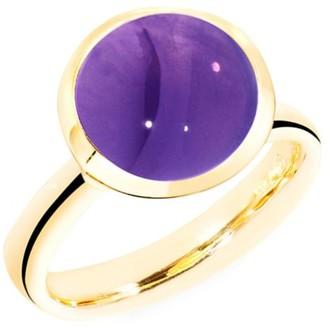 Tamara Comolli Bouton 18K Yellow Gold & Amethyst Large Ring