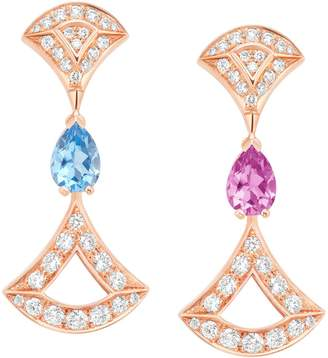 Bvlgari Rose Gold and Diamond Divas' Dream Earrings