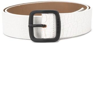 Diesel Buckled Printed Belt