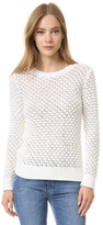 Jenni Kayne Textured Crewneck Sweater