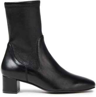 Stuart Weitzman Ernestine Stretch-leather Ankle Boots
