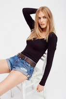 One Teaspoon Womens BANDIT DENIM CUTOFFS