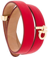 Salvatore Ferragamo wrap-around Gancio bracelet