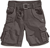 Request Kids Shorts, Boys Belted Cargo Shorts