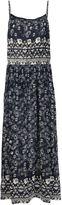 Sea floral print cami dress