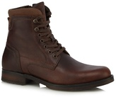 Mantaray Dark Brown Leather Boots