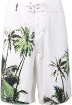 OSKLEN palm tree swim shorts - men - Polyester/Spandex/Elastane - 40