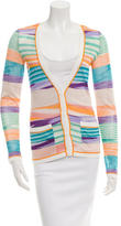 Missoni Patterned Long Sleeve Cardigan