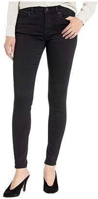 Blank NYC The Bond Stretch Mid-Rise Black Skinny in Night Mania (Night Mania) Women's Jeans