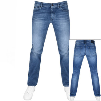 BOSS Casual Maine Regular Fit Jeans Blue