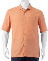Big & Tall Batik Bay Classic-Fit Solid Casual Button-Down Shirt