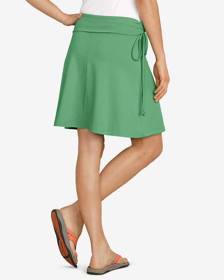 Eddie Bauer Women's Aster Convertible Skirt to Top - Solid