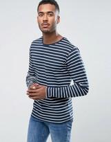 Bellfield Long Sleeve Striped T-Shirt