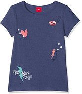 S'Oliver Girl's 53.707.32.4932 T-Shirt