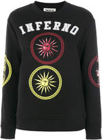 Fausto Puglisi embroidered sweatshirt