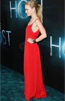 LnA Powell Slip Dress in Coral as Seen On Francesca Eastwood