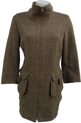 Max Mara Weekend Green Wool Coats