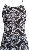 Versace Baroque-print performance top
