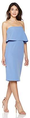 Suite Alice Women's Strapless Double Layer Pencil Dress