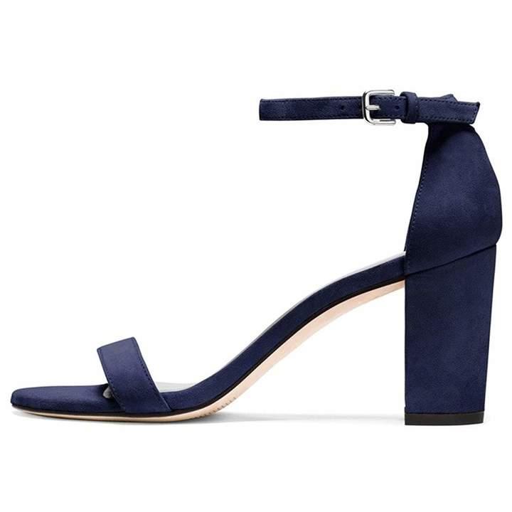 423072bb44d44 YODEKS Open Toe Block High Heel Sandals for Women Heeled Sandal with  Adjustable Ankle Strap Lady High Heels Pumps Summer Dress Sandals Shoes  US8.5
