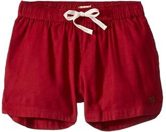 Roxy Kids Una Mattina Shorts (Little Kids/Big Kids) (Rhubarb) Girl's Shorts