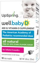 Upspring WellbabyTM D 400 IU Vitamin D Supplement