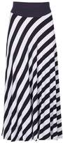 Izabel London *Izabel London Navy Stripe Maxi Skirt