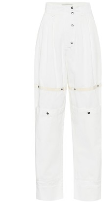 Etro High-rise carrot pants