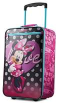 """American Tourister Disney Minnie Mouse 18"""" Softside Rolling Suitcase By"""