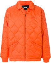 Stussy quilted jacket