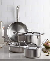 All-Clad D5 Brushed Stainless Steel 7 Piece Cookware Set
