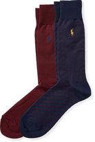 Polo Ralph Lauren Stretch Trouser Sock 2-Pack