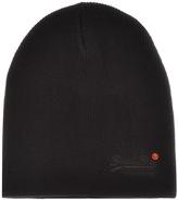 Superdry Orange Label Basic Beanie Hat Black