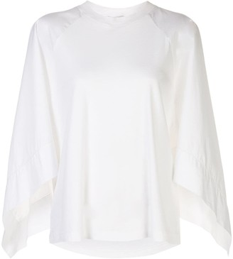 Rosetta Getty scarf sleeve T-shirt