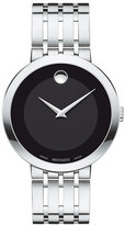 Movado 39mm Esperanza Watch, Silver
