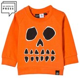 Molo Orange Eerie Pumpkin Sweatshirt