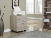 Monarch Reclaimed Three-Drawer File Cabinet