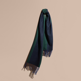Burberry Oversize Striped Cashmere Scarf