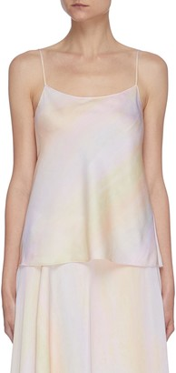 Vince Rainbow wash camisole top