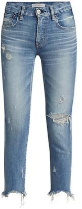 Moussy Glendele Distressed Skinny Jeans