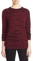 Autumn Cashmere Tie Dye Print Cashmere Sweater