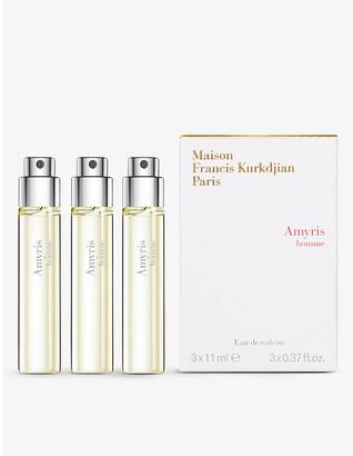 Francis Kurkdjian Amyris homme eau de parfum refills 3 x 11ml