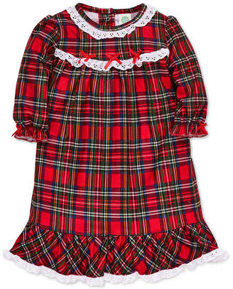 Little Me Baby Girls Plaid Nightgown