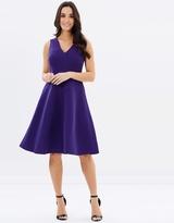 Dorothy Perkins Scuba Stripe Prom Dress