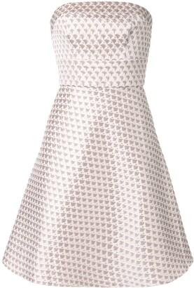 Bambah short geometric pattern dress