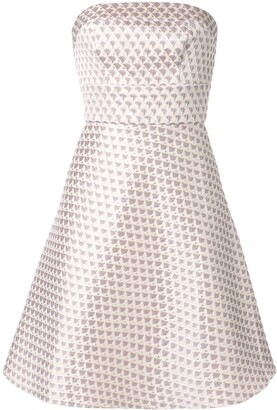 Bambah Short Geometric Pattern Dress