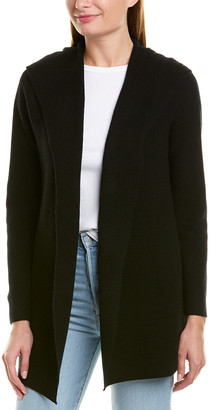 Monrow Wrap Wool & Cashmere-Blend Cardigan