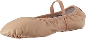 Dance Class Leather/Spandex Ballet Dance Shoe